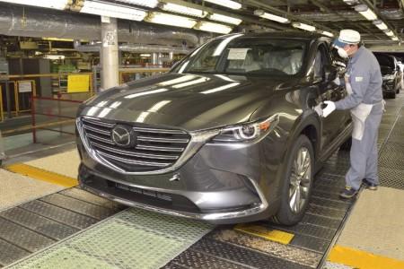 El Mazda CX-9 entra en producción