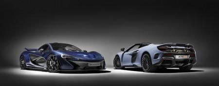 Nuevas personalizaciones de MSO para los McLaren P1 y McLaren 675LT Spider