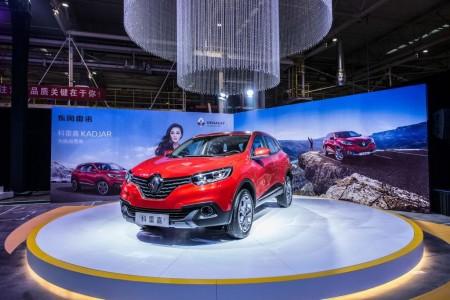 Renault inaugura su primera fábrica en China
