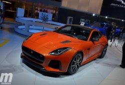 El nuevo Jaguar F-Type SVR preparado para su debut mundial