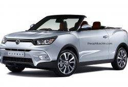 Así sería el SsangYong Tivoli Cabrio
