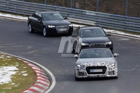 Audi TT RS Roadster 2017, primeras fotos espía desde Nürburgring