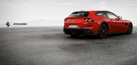 Ya puedes configurar el Ferrari GTC4Lusso que desearías tener en tu garaje