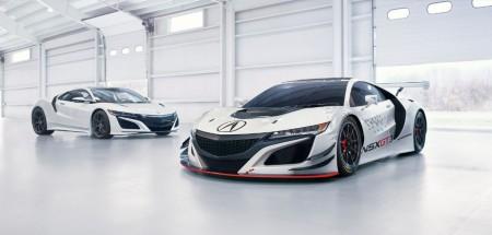 Acura NSX GT3, el Honda NSX se viste con tracción trasera para competición