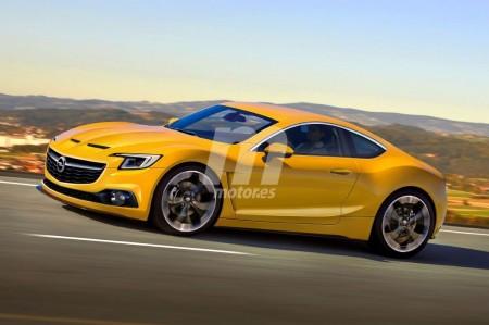 El futuro Opel GT con el que soñamos sería así