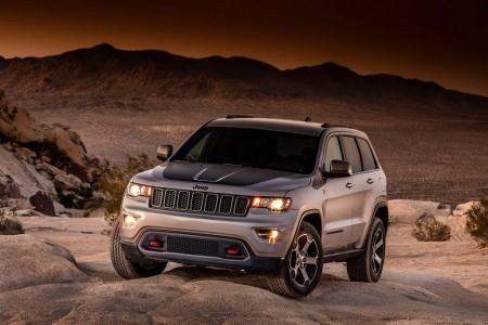 El Jeep Grand Cherokee Trailhawk 2017 se deja ver antes de tiempo
