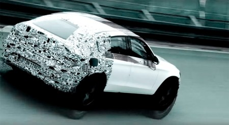 Anticipo del Mercedes GLC Coupé en vídeo