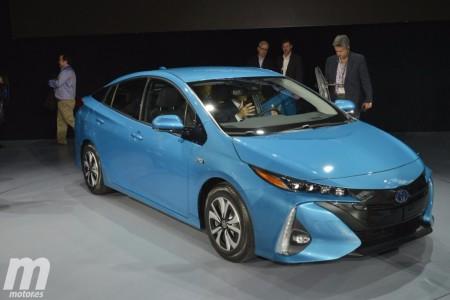 Toyota Prius Prime: el Prius híbrido enchufable se desvela en Nueva York