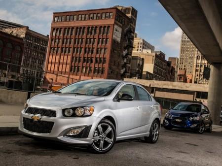 México - Febrero 2016: El Chevrolet Sonic desplaza al Aveo