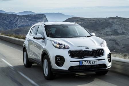 Reino Unido - Febrero 2016: Kia Sportage, por primera vez en el Top 10