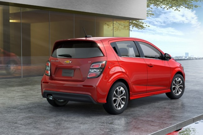 Chevrolet Sonic 2017 El Aveo Norteamericano Estrena Restyling