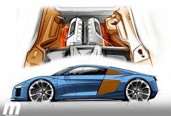 De vueltas con el motor del Audi R8 V6 ¿qué motor equipará?