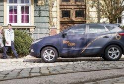 Beezero será el primer servicio de coche compartido con Hyundai ix35 de hidrógeno