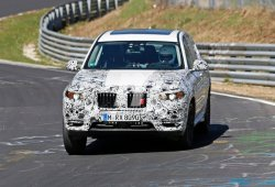 El esperado BMW X3 2017 se deja ver en Nürburgring