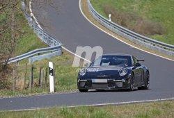 Más detalles del frontal y luces diurnas del Porsche 911 GT3 2017