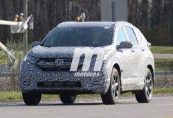 Honda CR-V 2018, la primera mula de pruebas ya está en la carretera
