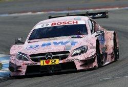 El nuevo Mercedes-AMG C 63 DTM en problemas