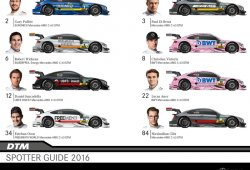 Colores de los Mercedes-AMG C 63 DTM de 2016