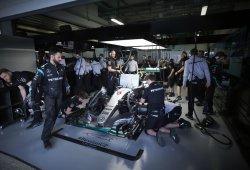 Plácido y brillante viernes para Mercedes en Sochi