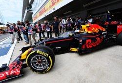 Red Bull estrena su 'Aeroscreen' en pista