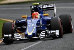 Sauber estrena un nuevo chasis para Felipe Nasr