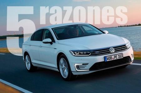 Volkswagen Passat GTE: 5 razones para hacerte con este híbrido
