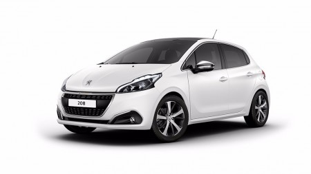 El Peugeot 208 estrena color Ice White