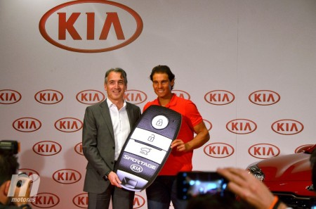 Kia Sportage, el nuevo coche de Rafa Nadal