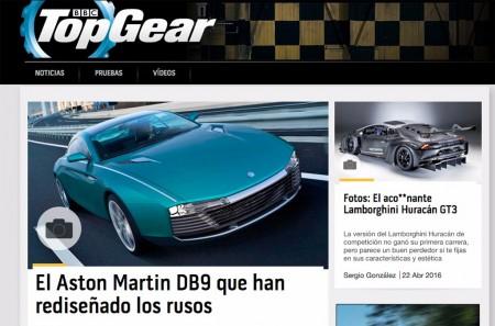 TopGear llega a España en formato web y papel