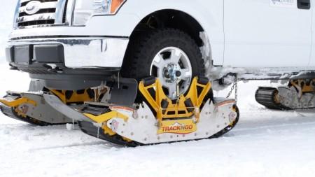 Transforma cualquier SUV o todoterreno en una oruga para la nieve