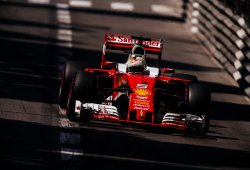 Ferrari no sale del túnel en Mónaco
