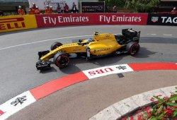Palmer y Magnussen conocen los muros de Mónaco