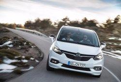 Opel Zafira Tourer 2016, nuevo frontal y mucha más tecnología