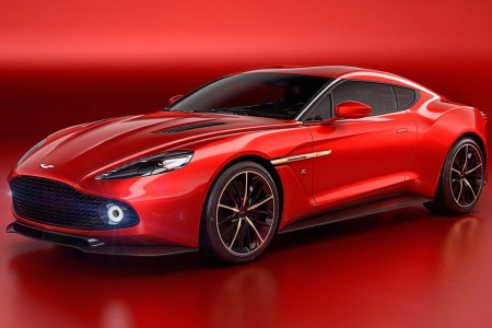 Aston Martin Vanquish Zagato Concept, para quedarse con la boca abierta