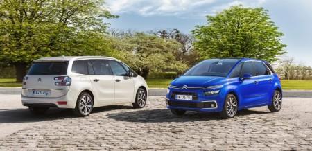 Los Citroën C4 Picasso y Grand C4 Picasso 2016 se actualizan y mejoran