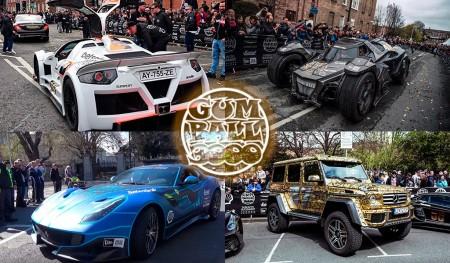 5 coches locos de la Gumball 3000 2016