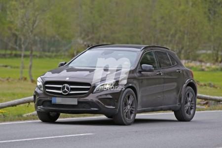 La plataforma MFA II se pone a punto sobre el futuro Mercedes GLB
