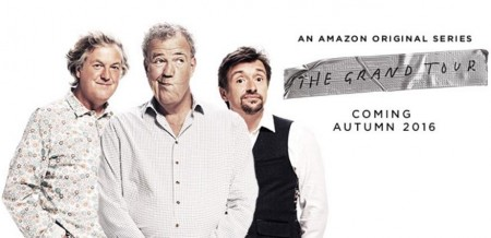"""The Grand Tour"", el nombre oficial del nuevo show de Jeremy Clarkson, James May y Richard Hammond en Amazon Prime"