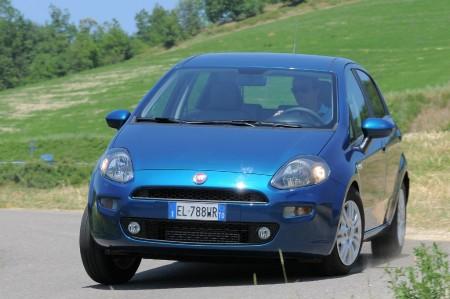 Italia - Abril 2016: El Fiat Punto resucita