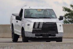 Un primer vistazo al nuevo Ford F-150 2017, un inminente facelift