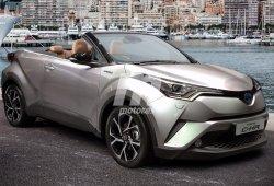 ¿Hay sitio para un Toyota C-HR descapotable? Así sería su diseño