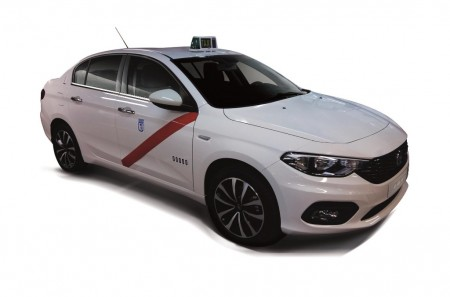 Fiat Tipo, homologado como nuevo taxi en Madrid