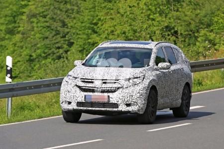 El Honda CR-V 2018 continua su puesta a punto