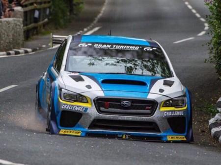 Mark Higgins y el Subaru WRX STi arrasan en la Isla de Man