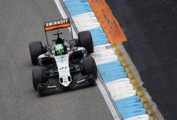 Force India le gana la batalla a Williams en Hockenheim