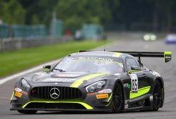 Ley Mercedes en la superpole de las 24 Horas de Spa