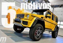 5 motivos para amar el Mercedes G 500 4×4²