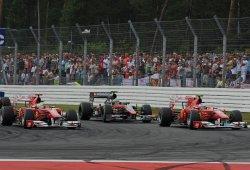 """[Vídeo] GP Alemania 2010: """"Felipe, Fernando es más rápido que tú"""""""