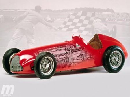 Las máquinas campeonas de la F1: Alfa Romeo 158/159