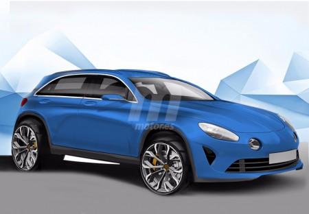 Alpine AS2, formato SUV para 2018